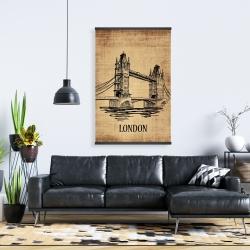 Magnetic 28 x 42 - Tower bridge illustration