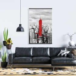 Magnetic 28 x 42 - Empire state building of new york