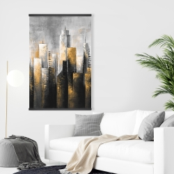 Magnetic 28 x 42 - Abstract skyline
