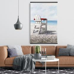 Magnetic 28 x 42 - White beach chair