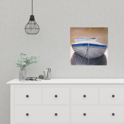 Poster 16 x 16 - Two canoe boats