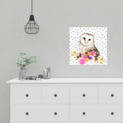 Affiche 16 x 16 - Jolie hibou