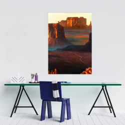 Poster 24 x 36 - Monument valley tribal park in arizona