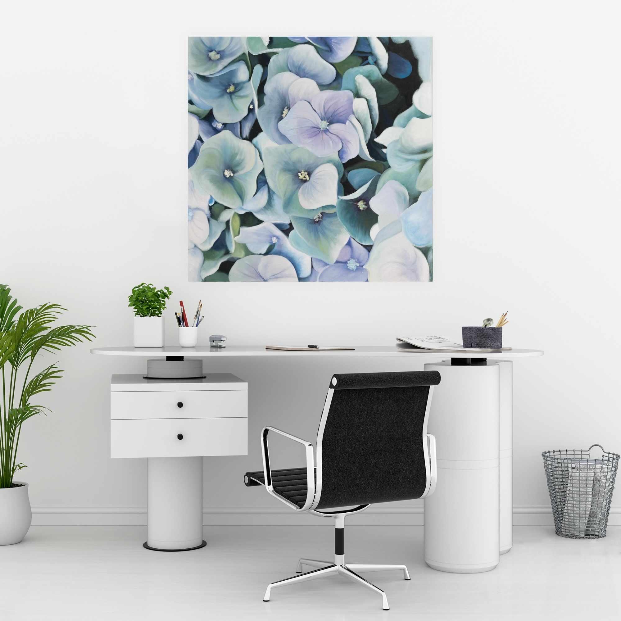 Poster 30 x 30 - Hydrangea plant