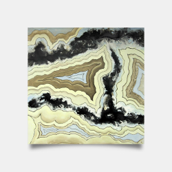 Poster 30 x 30 - Lace agate