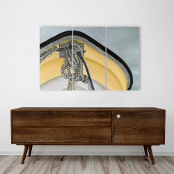 Canvas 24 x 36 - The yellow boat