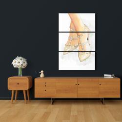 Canvas 24 x 36 - Studded high heels