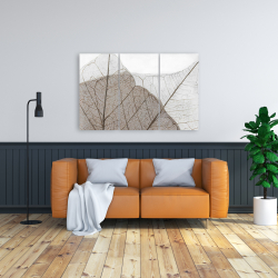Canvas 24 x 36 - Translucent dried leaves
