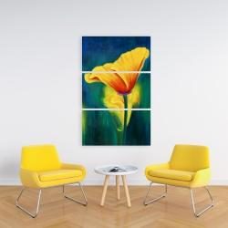 Canvas 24 x 36 - Superb contrast flowers