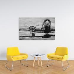Canvas 24 x 36 - Grayscale plane