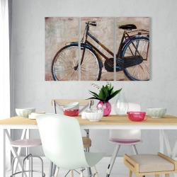 Canvas 24 x 36 - Industrial bicycle