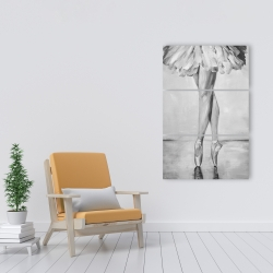 Canvas 24 x 36 - Ballet classic steps