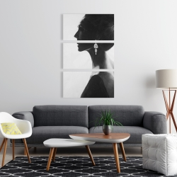 Canvas 24 x 36 - Chic woman
