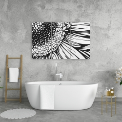Canvas 24 x 36 - Gerbera flower