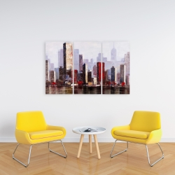 Canvas 24 x 36 - Industrial city
