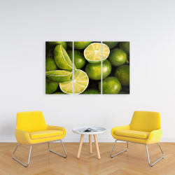 Canvas 24 x 36 - Basket of limes