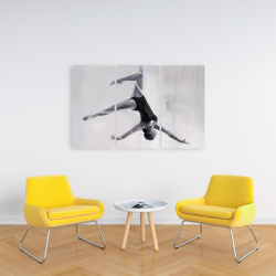 Canvas 24 x 36 - Dancer on aerial silks