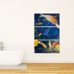 Canvas 24 x 36 - Colorful fish under the sea