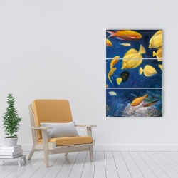 Canvas 24 x 36 - Fish under the sea