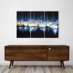 Canvas 24 x 36 - Evening at the marina