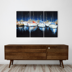 Canvas 24 x 36 - Evening at the marina