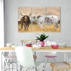 Canvas 24 x 36 - Nguni herd