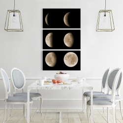 Toile 24 x 36 - éclipse en six phases