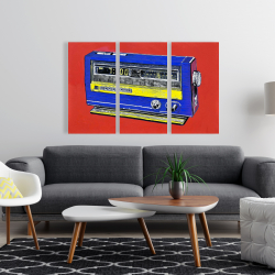 Canvas 24 x 36 - Retro radio alarm