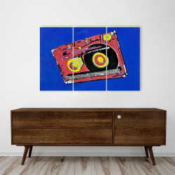 Canvas 24 x 36 - Tape player