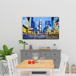 Canvas 24 x 36 - Cityscape in times square