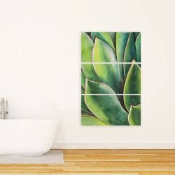 Canvas 24 x 36 - Watercolor agave plant
