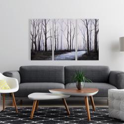 Canvas 24 x 36 - Sad forest