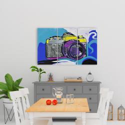 Canvas 24 x 36 - Retro camera