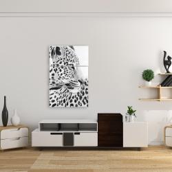 Canvas 24 x 36 - Beautiful leopard