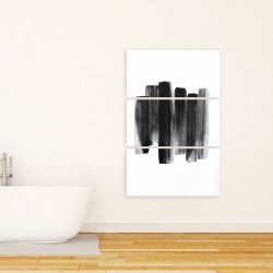 Canvas 24 x 36 - Black shapes