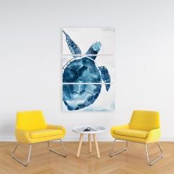 Canvas 24 x 36 - Blue turtle