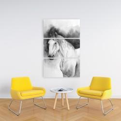 Canvas 24 x 36 - Domino horse