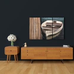 Canvas 24 x 36 - Rowboats