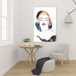 Canvas 24 x 36 - Vintage chic maryline monroe