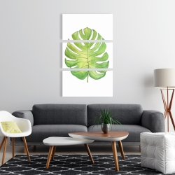 Canvas 24 x 36 - Tropical leaf