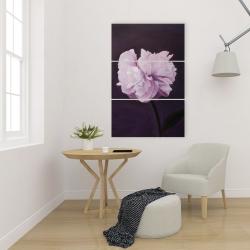 Canvas 24 x 36 - Beautiful purple flower