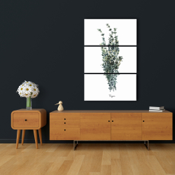 Canvas 24 x 36 - Thyme leaves bundle - fr