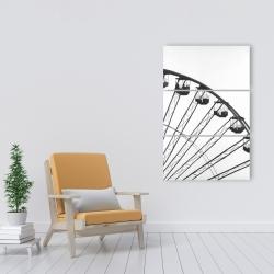 Canvas 24 x 36 - Quarter of a ferris wheel