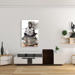 Canvas 24 x 36 - Vintage train