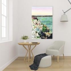 Canvas 24 x 36 - Landscape of crete