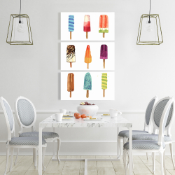 Canvas 24 x 36 - Iced lollipop