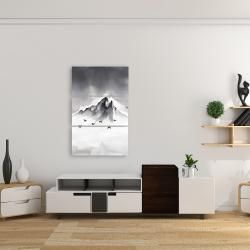 Canvas 24 x 36 - Mountain peak