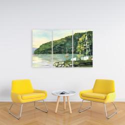 Canvas 24 x 36 - Sailboat day
