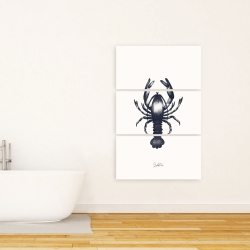 Canvas 24 x 36 - Blue lobster