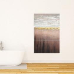 Canvas 24 x 36 - Golden pink